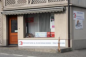 Orthopädie & Schuhmacherei Erich Burri - Laden